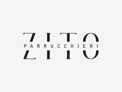 Zito Parrucchieri — Hair Stylist type design typeface serif serif font identity font font design font logo cut italy letter logo minimal design symbol vector logotype logo design logo branding brand design