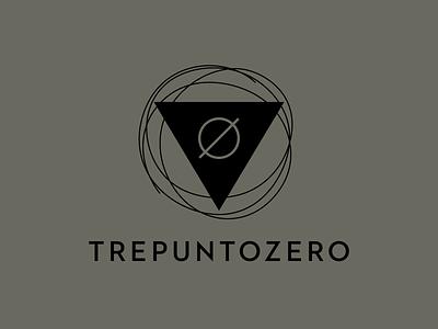 Trepuntozero — L'Oréal Hair Stylist black logo italy lineart linestyle woman zero triangle logo hair salon three zero point hair minimal pictogram design symbol vector logotype logo design logo branding brand design