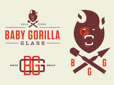 Baby Gorilla Glass philly gorilla glass blowing