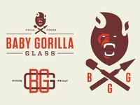 Baby Gorilla Glass