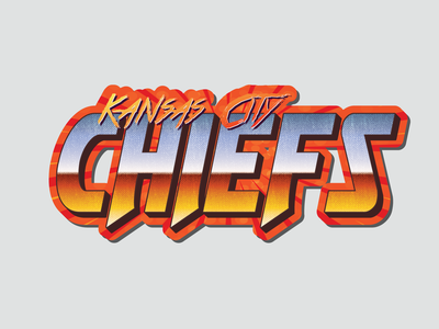 Retro Chiefs Sticker