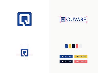 Quvare - Logo Design iconography icon uidesign grid layout brand identity logodesign illustration sketch design vector logo branding