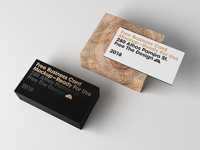 Free Card Display Mockup pampa mockup free card business athos