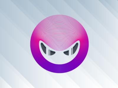 Angry Ninja Logo Design