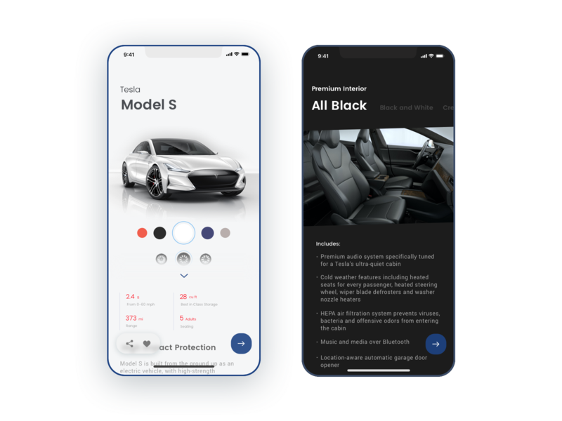 33 Customize Product style blue modern car stylish cool branding simple minimal app design minimal app sketch clean ui dailyui