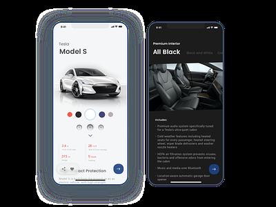 33 Customize Product style blue modern car stylish cool branding simple minimal app design minimal app sketch clean ui dailyui