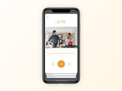 16 Pop Up Overlay follow me app design popup design overlay popup card movie cooking cook uidesign simple ux minimal clean app sketch ui design minimal app dailyui