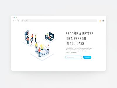 26 Subscribe whitespace webapp web uidesign ui subscribe stylish sketch simple minimal app minimal landing page inspiration illustrator design dailyui cool clean browser app