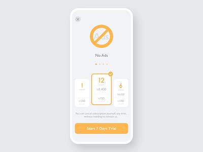 30 Pricing application reference gray hire me nice cool stylish pricing price orange ux simple minimal app minimal design clean sketch app ui dailyui