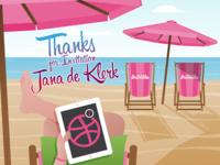 Thanks for the invite Jana