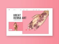 Design WebSite Henna Art