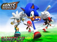 Sonic Rivals full game free pc, download, play. download Soni