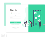 Sign Up Form - Daily UI 001