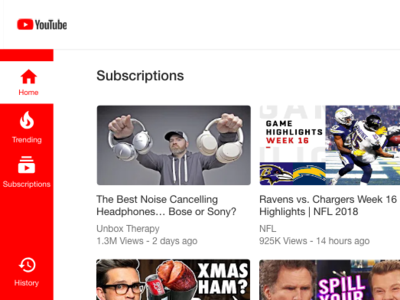 Youtube Redesign Sneak Peak