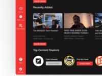 Youtube Redesign Dark Theme modern flat dark theme google youtube redesign website design