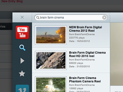 Video Player 3.0 for ExpressionEngine search eecms favorites interface expressionengine youtube vimeo video manager video player player