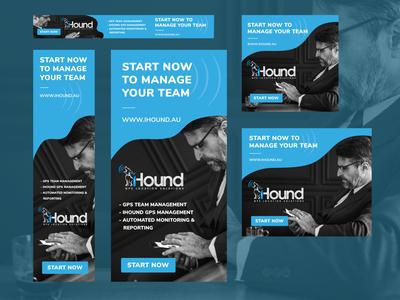 Ihound Web Banner Ads