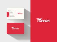 Snoonu logo & namecard