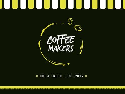 Coffee truck logo