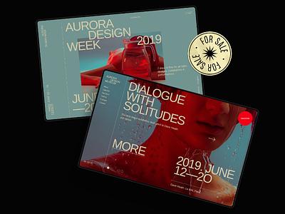 Aurora Events Design Kit event store app design mobile typography theme ui kit ui components ui elements templates uikit