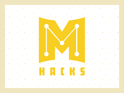 Original MHacks Logo logo branding