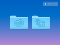 InVision & Creative Cloud Replacement Yosemite Folder Icons