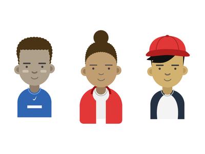 Jarod, Camara, Myself illustration illustrations character profile
