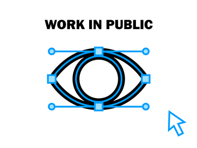 Work In Public logo illustration illustrations