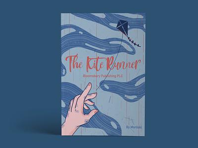 The Kite Runner digital illustration design book cover
