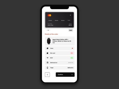 Daily UI #002 - Credit card checkout sketch design challenge creditcard card credit ui daily ui ux 002 dailyui