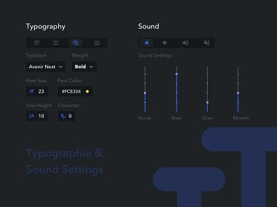 Daily UI #007 - Settings sound settings 006 design dailyuichallenge dailyui ux ui sketch challenge