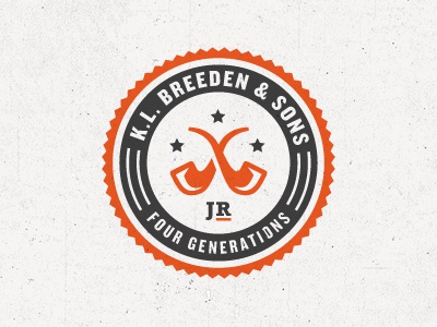 K.L. Breeden & Sons Revised logo