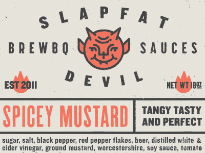 Slapfat Devil Brewbq Sauces brew beer bbq sauce ryan feerer devil