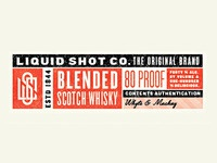 Liquid Shot Co Blended Scotch Whisky