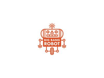 Old Forgotten Logo logo robot