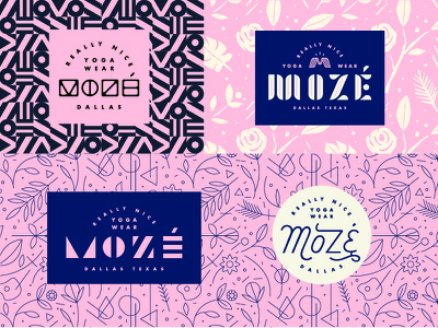 Type & Patterns type geometry geometric leaves flower pattern typography logo icon custom type custom lettering