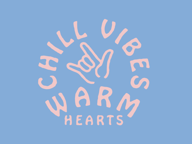HOBO heart love hand vibes chill warm hearts font hobo surf