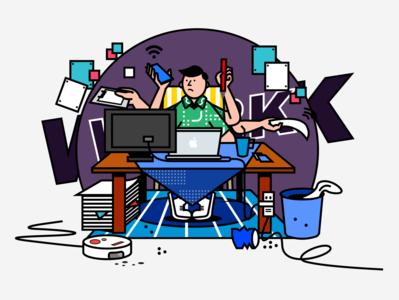work design illustration