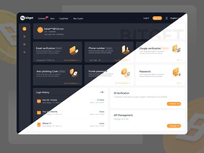Exchange web design ui