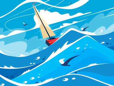 navigation design illustration