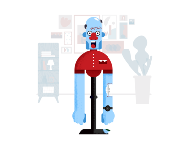 Zombie reception design illustration