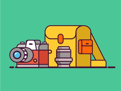 Camera Bag Colored