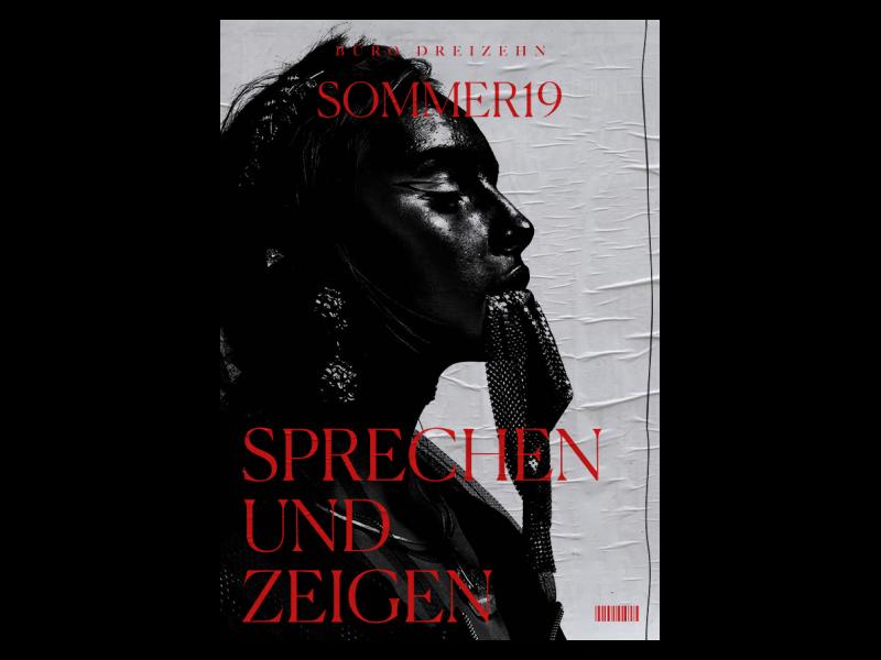 BÜRO DREIZEHN poster photography photo logo grid blog branding fashion typography design concept