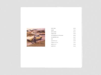 Album Cover #002 [back]