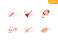 Freebie Medical Iconset