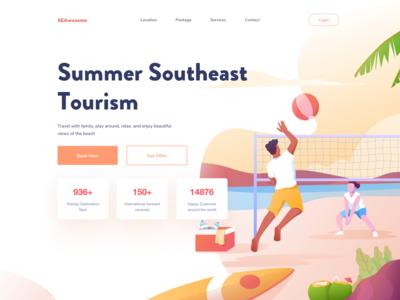 Summer Southeast Tourism