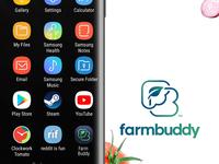 Farmbuddy Mobile App brand identity Designs