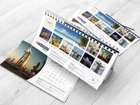 Touchdown Desk Calendar