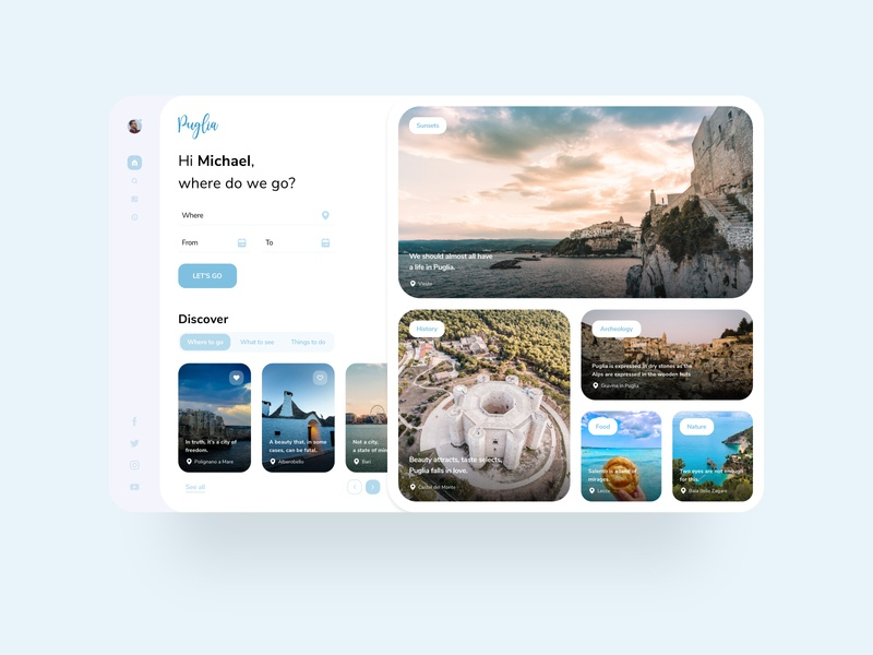 Regional tourism site concept