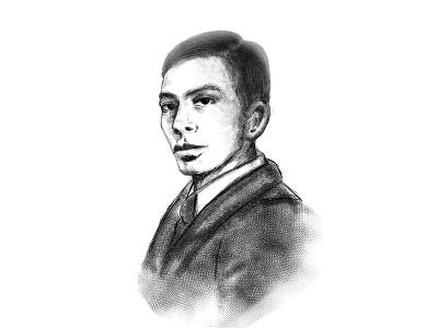 Abuelo portrait illustration illustration